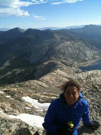 Summit of Mt Price