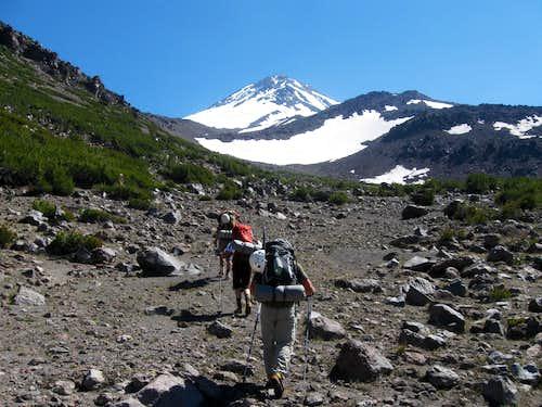 Approaching Mount Shasta