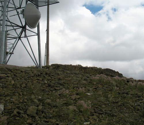The summit high spot