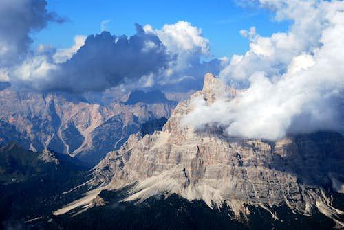 Monte Pelmo from the summit Civetta