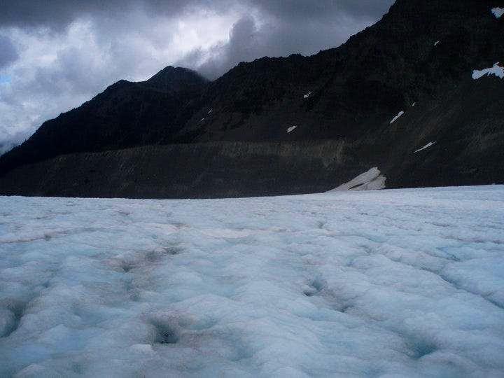 Lateral Moraine on Blue Glacier