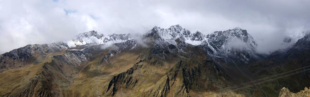 Planeiler Berge Western Ridge
