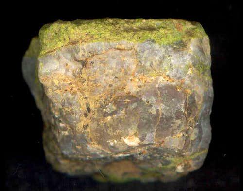 Piece of granite...