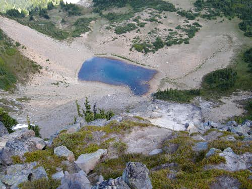 Unnamed lake below Marcus
