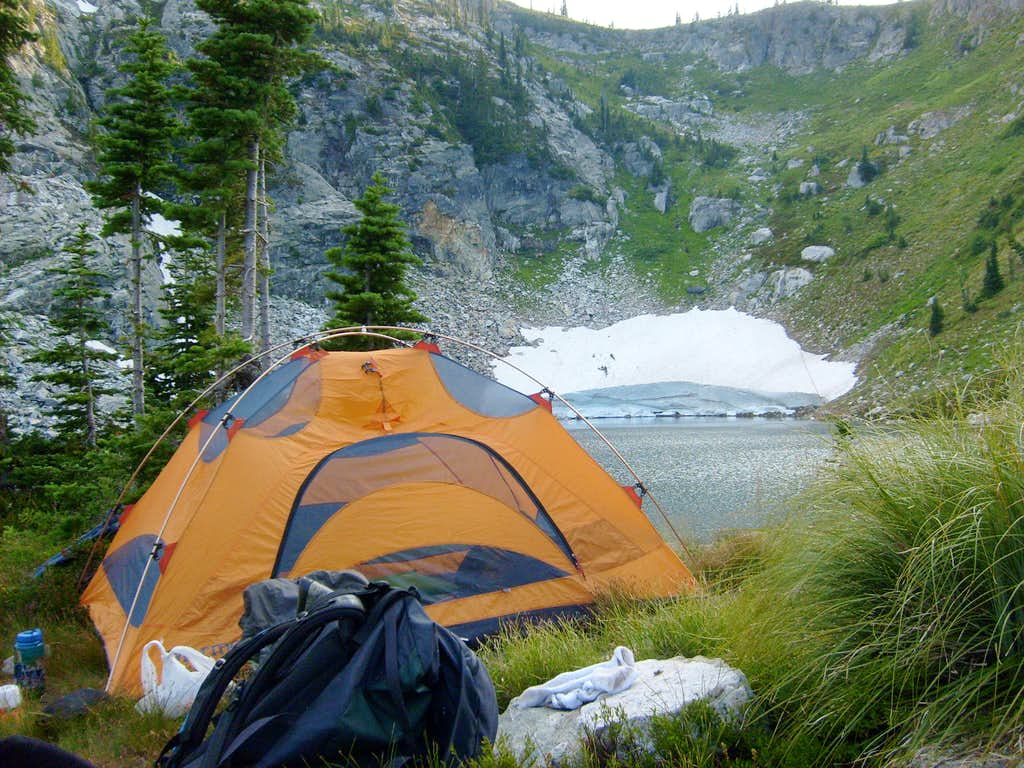 Camp in the Selway