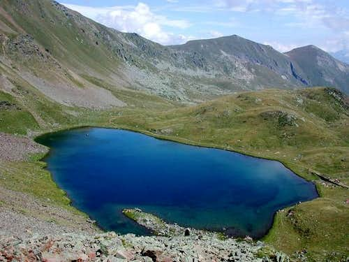 Behind the Fallere lake,...