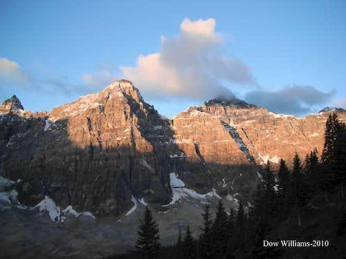 Mts. Allen, Tuzo and Deltaform