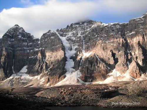 Mts. Tuzo and Deltaform