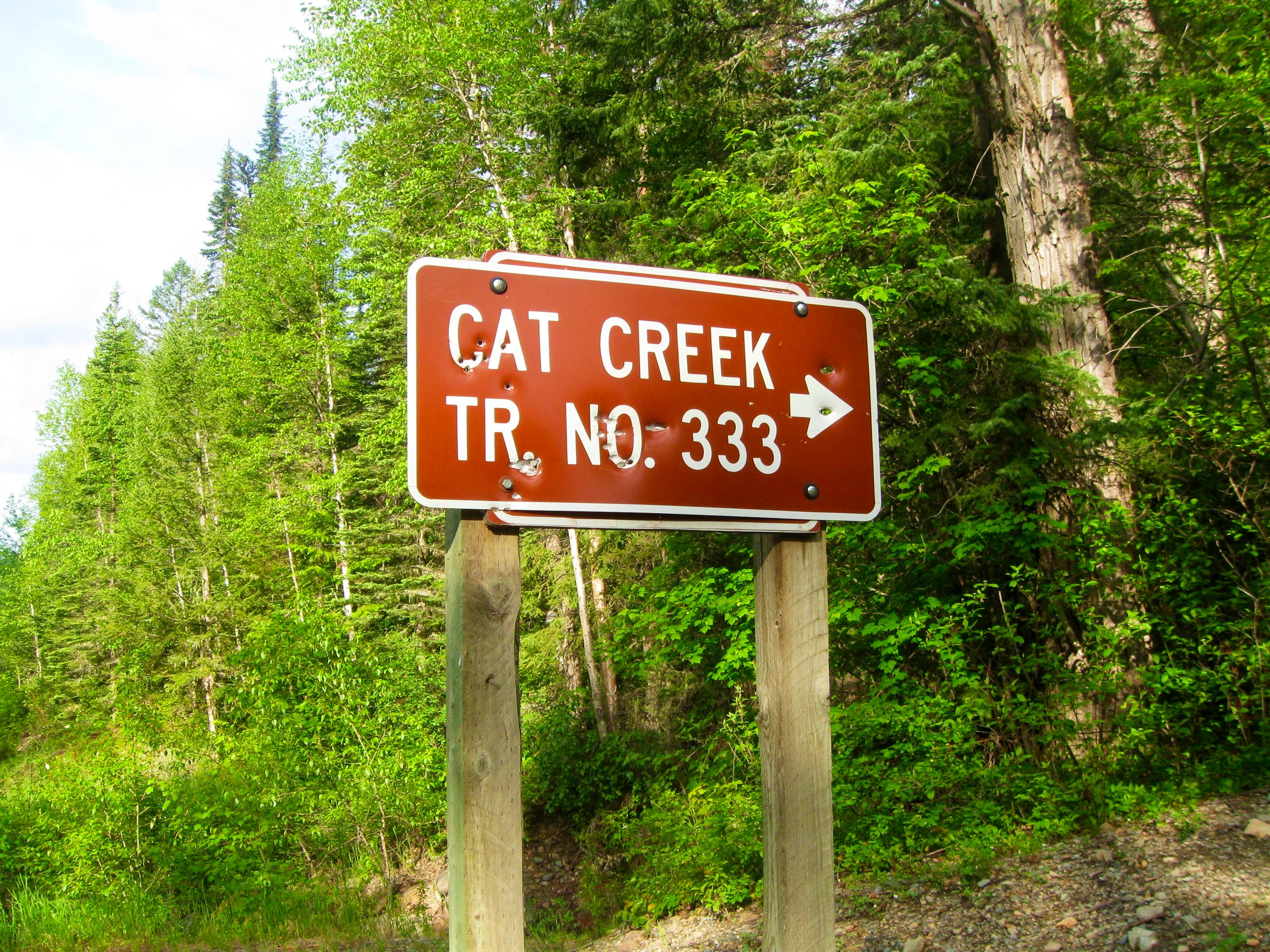 Cat Creek Trailhead