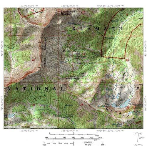 Marble Mountain Region