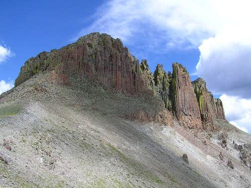 7 Aug 2004 - Organ Mountain...