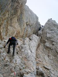 A first scrambling section