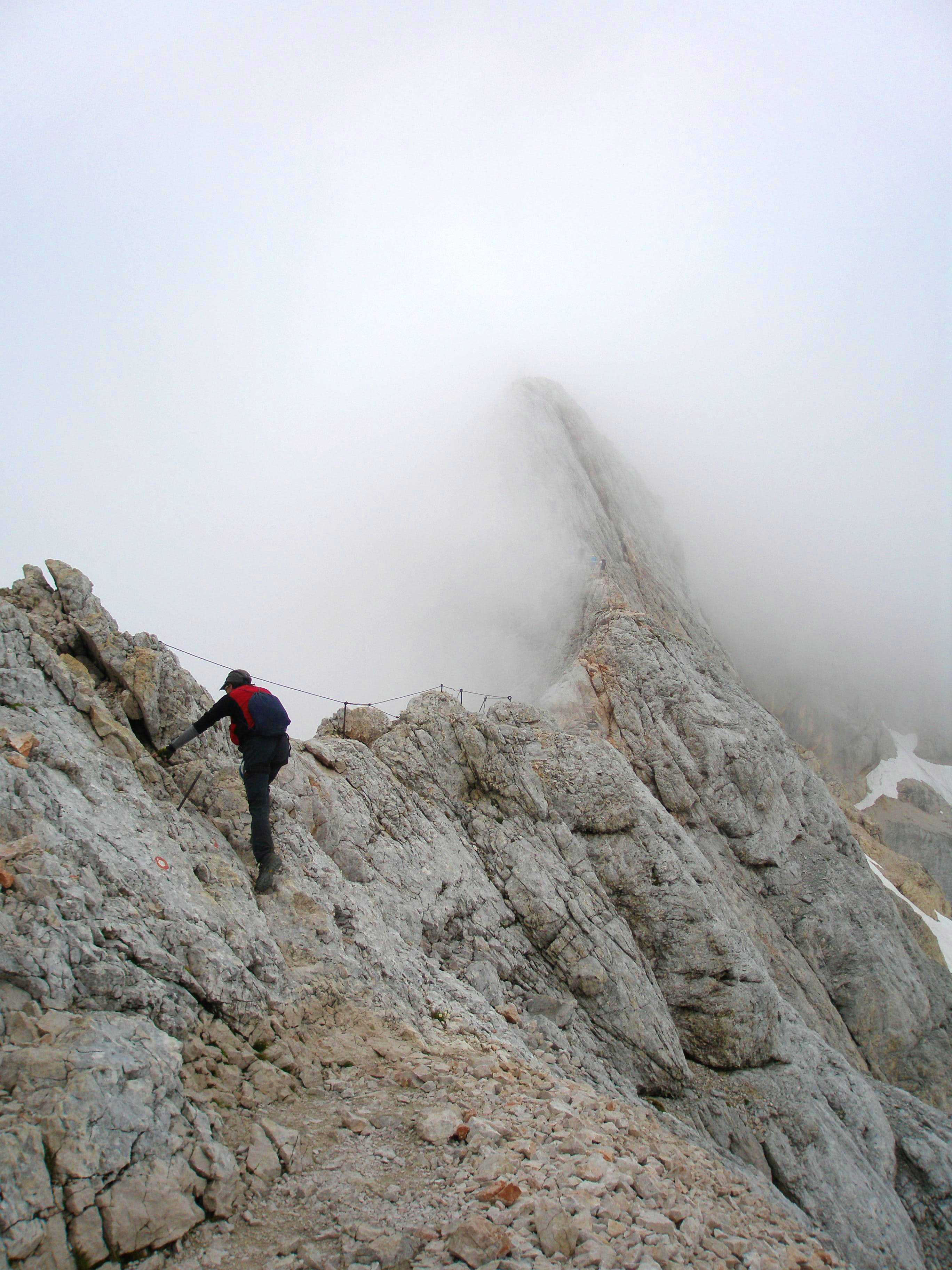 Two spaniards on Triglav