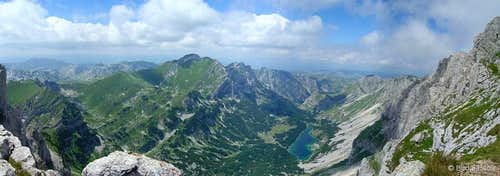 Škrka valley panorama