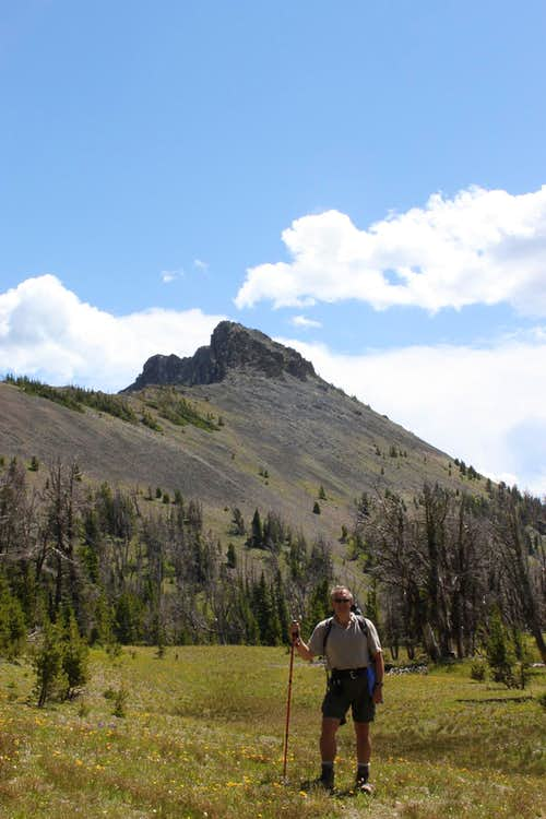 Hoyt Peak from the Saddle