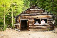 Abandoned Mining Cabin