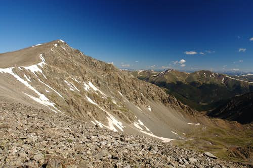 Torreys Peak and Kelso Ridge