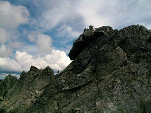 The true summit of Grindstone