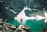 One of the alpine lakes....