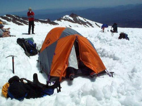 Late June base camp right...