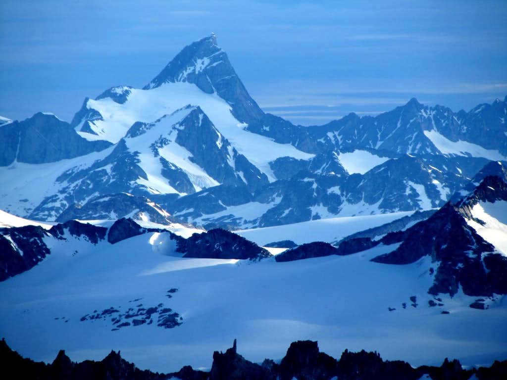 Mount Queen Bess From a Distance