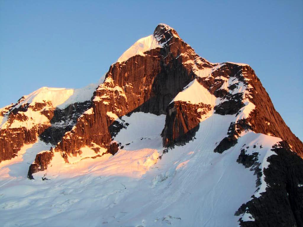 Alpenglow on Mt. Butte
