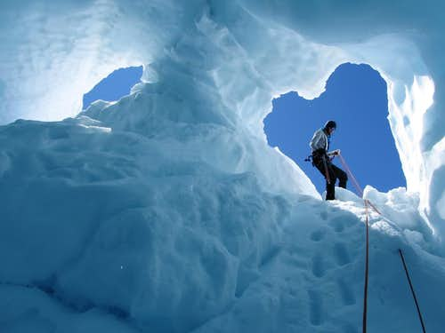 Investigating the Ice Cave