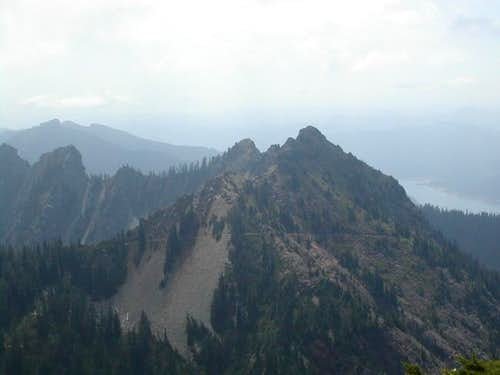 Kendall Peak as seen from the...
