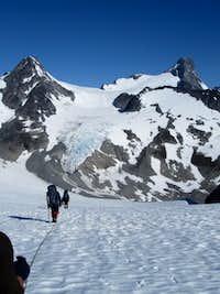Approaching Mt. Queen Bess