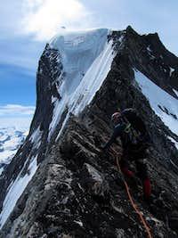 North Ridge of Queen Bess