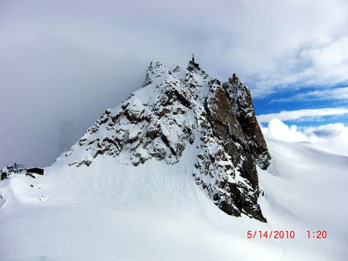 Bad time to be on Arete des Cosmiques