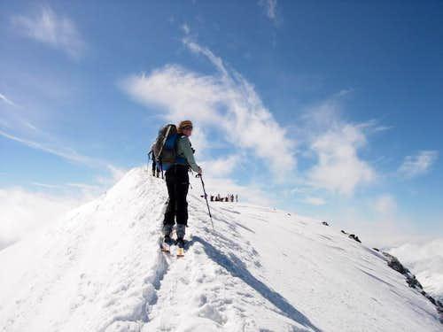 Monte Pasquale summit (Italy)