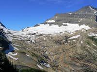 Kintla Peak, SE ridge