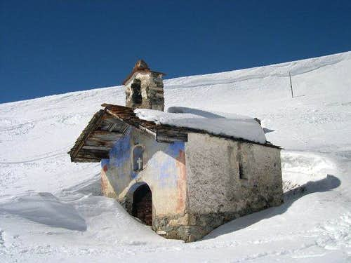 Small Church at the feet of...