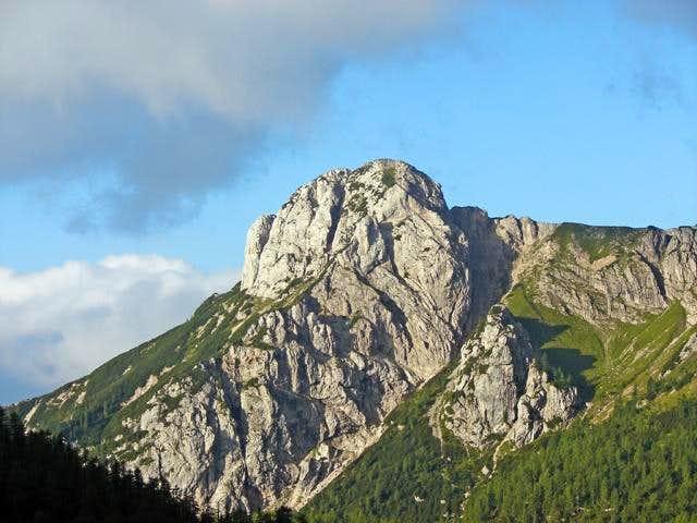 Jezerski Stog (North-East summit of Ogradi)
