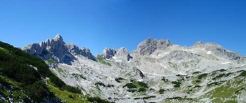 Dinaric Alps panoramas by peterbud