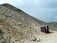 Abandoned Mine at the end of the Road 12850 ft