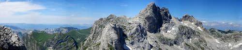 Minin bogaz summit panorama