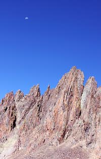 Spires on the SW ridge of Sneffels