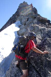 Scotty on the West Ridge