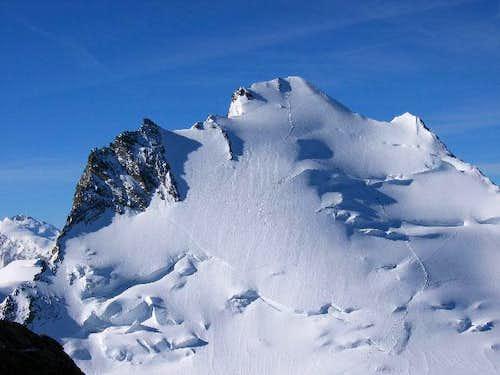 Dom (4 545 m) vu du sommet du...