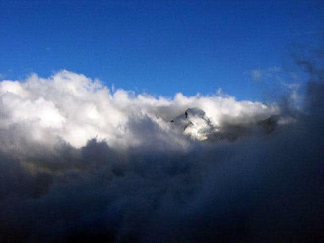 Allalinhorn (4 027 m) vu de...