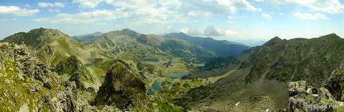 The best panorama of Retezat