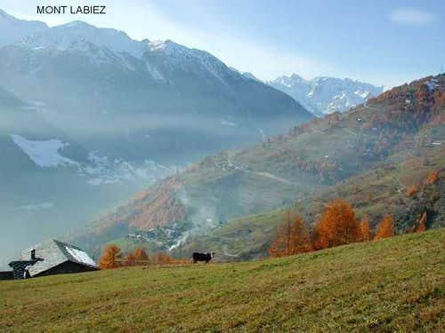 Mont Labiez, view from the...