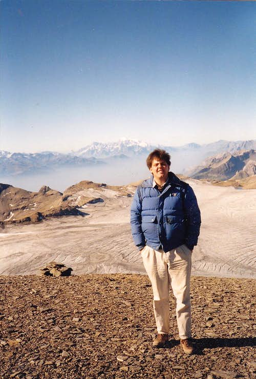 Me on top of the Wildstrubel in September 1991