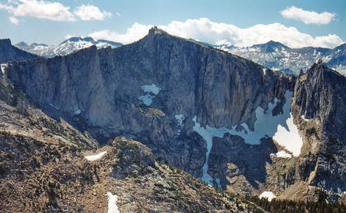 North face of Peak 11,357  from Reymann Peak