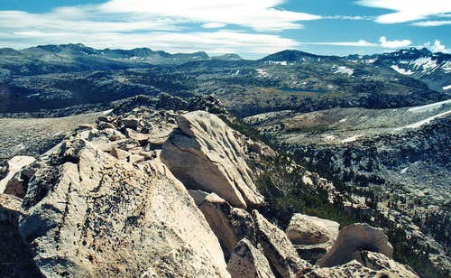 Southeast from Reymann Peak