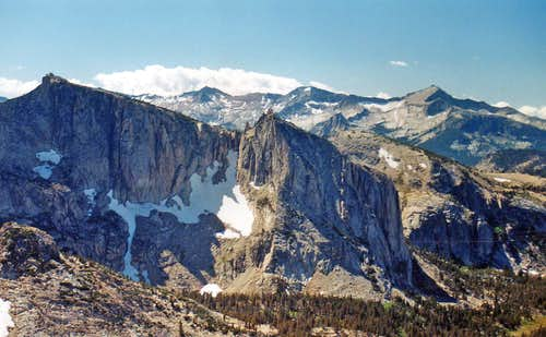 Peak 11,357\' and Clark Range from Reymann Peak