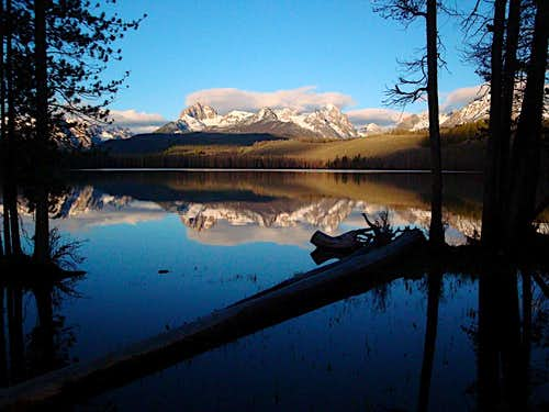 Little RedFish Lake   Idaho\'s Sawtooths
