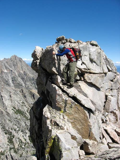 Climbing the East Ridge of Buck Mt